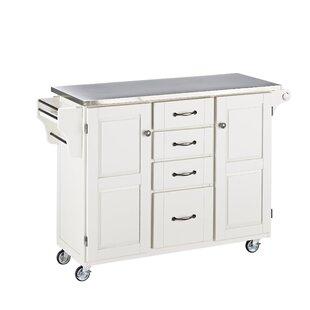 Stainless Steel Kitchen Islands Carts You Ll Love Wayfair