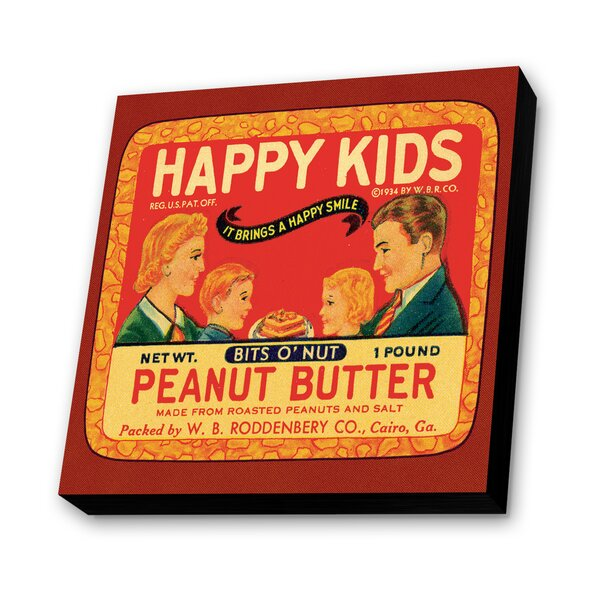Peanut Butter Vintage Advertisement Plaque by Lamp-In-A-Box