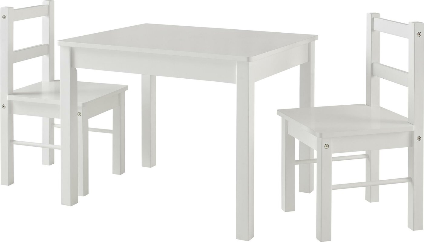 Viv Rae Suri Kids 3 Piece Rectangle Table And Chair Set