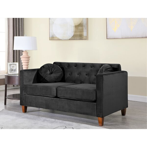 Belles Loveseat By House Of Hampton