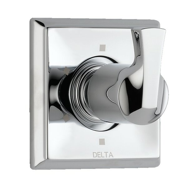 Dryden Diverter Faucet Trim Only with Level Handles by Delta