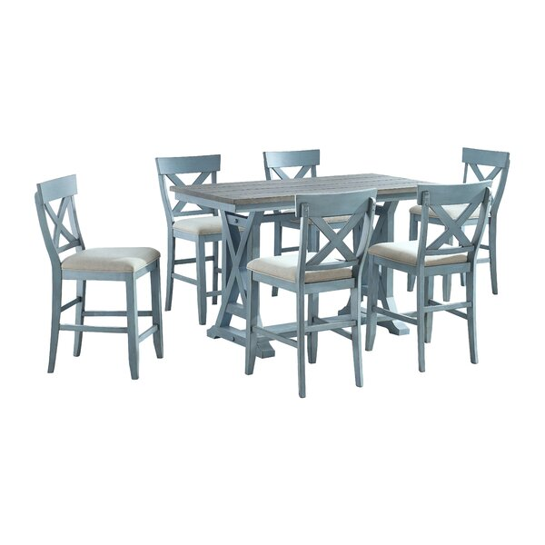 Maja 7 Piece Counter Height Dining Set by Gracie Oaks Gracie Oaks