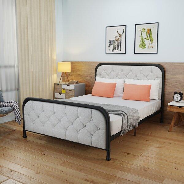 Levasseur Industrial Queen Upholstered Platform Bed By House Of Hampton by House of Hampton Wonderful