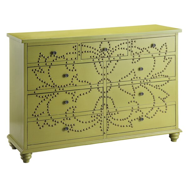 Larocque 9 Drawer Standard Dresser by Red Barrel Studio