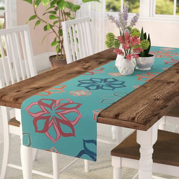 Jolene Heckman Mini Flowers Table Runner by East Urban Home