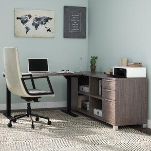 Heyworth L-Shape Desk Office Suite