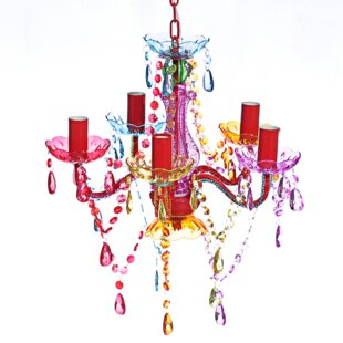 Multi coloured chandeliers wayfair save aloadofball Choice Image