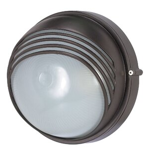 Find Ayesha Modern 1-Light Outdoor Flush mount By Williston Forge