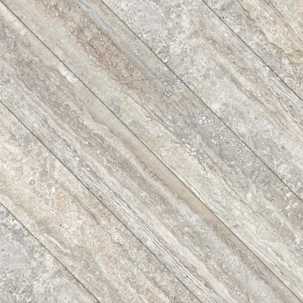 Vstone 19 x 19 Porcelain Field Tile in Nut Cross Matte by Tesoro