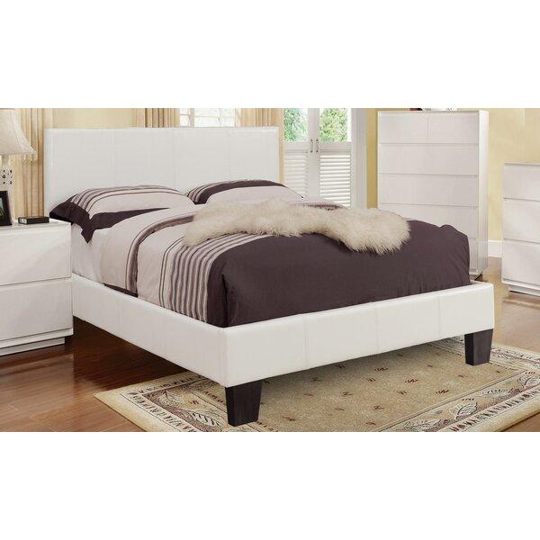 Upholstered Platform Bed by WorldWide HomeFurnishings