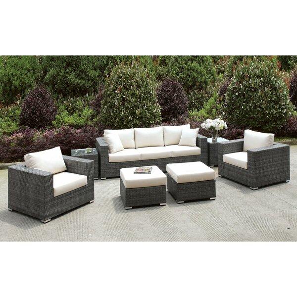 Peters 7 Piece Sofa Seating Group with Cushions by Brayden Studio Brayden Studio
