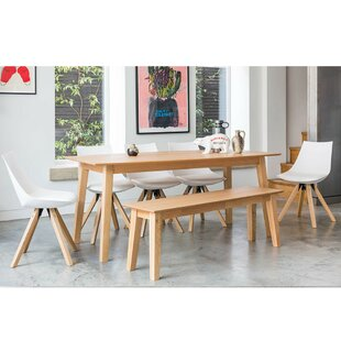 Evergreen Dining Set With 5 Chairs And 1 Bench