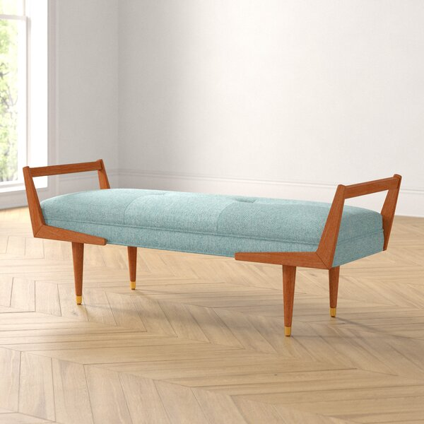 Ashwood Upholstered Bench by Foundstone