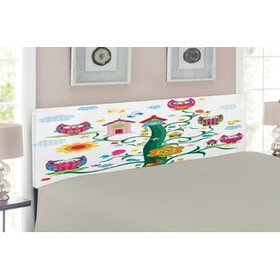 Owl Upholstered Panel Headboard by East Urban Home