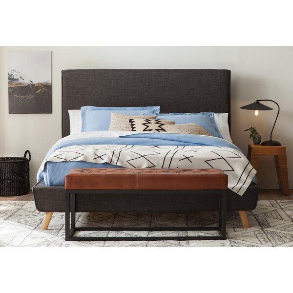 Newfane Upholstered Platform Bed by George Oliver