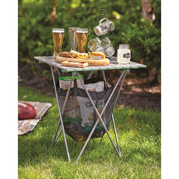 Louella Picnic Table with Storage by Three Posts