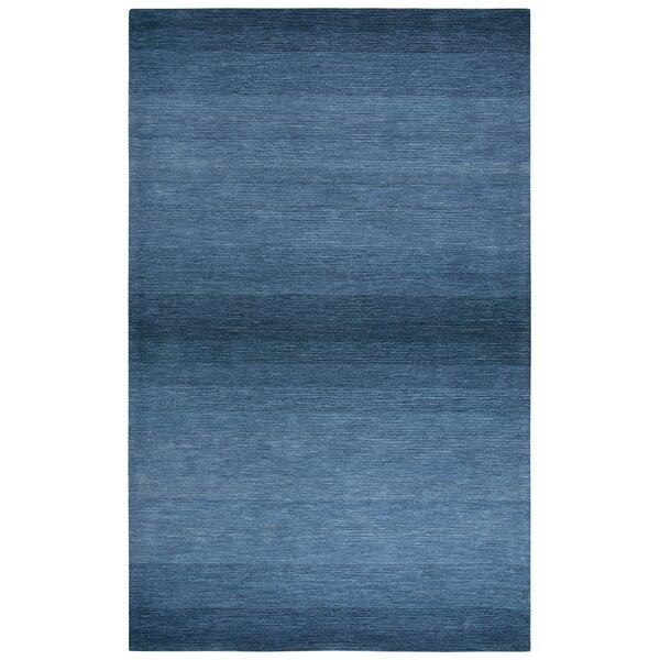 Scheffel Hand-Tufted Wool Blue Area Rug by Orren Ellis