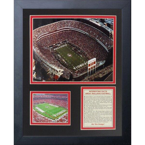 Georgia Bulldogs Sanford Stadium Framed Memorabilia by Legends Never Die