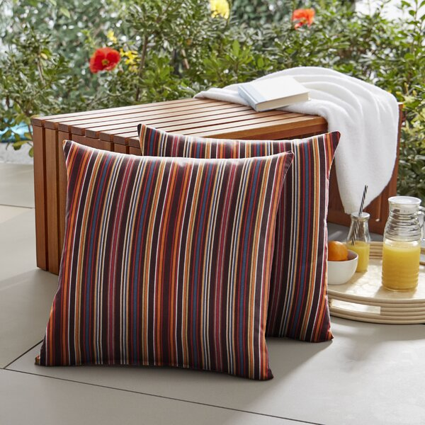 Mae Indoor/Outdoor Throw Pillow (Set of 2) by Winston Porter