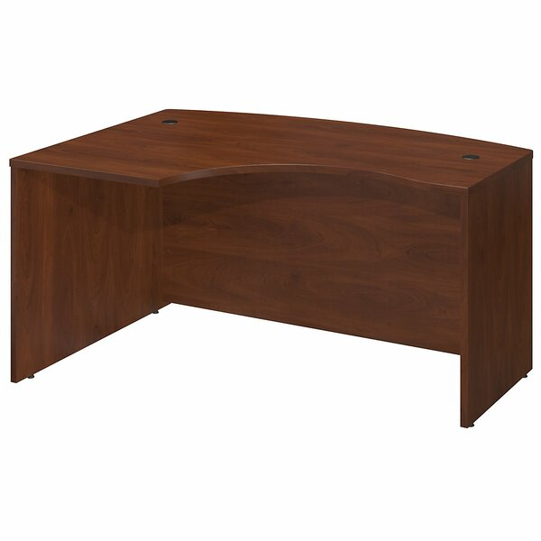 Series C L-Shape Executive Desk with L-Bow by Bush Business Furniture
