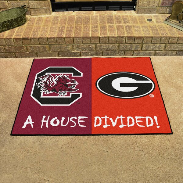 House Divided - South Carolina / Georgia Doormat by FANMATS