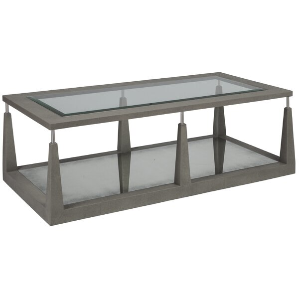 Floor Shelf Coffee Table With Storage By Artistica Home