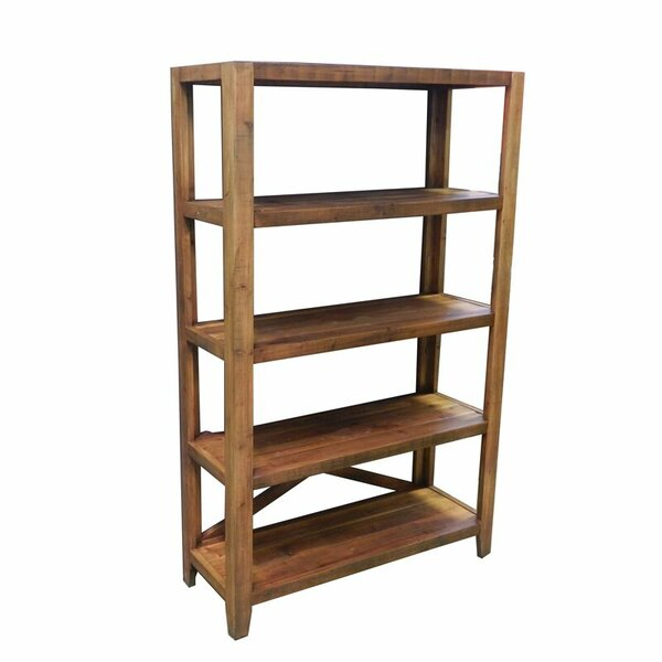 Essential Décor and Beyond Wooden Etagere Bookcase by Entrada