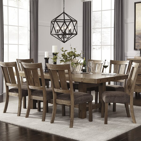 Find Etolin 9 Piece Dining Set By Loon Peak Design