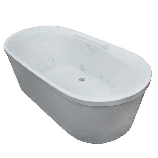 Royal 67 x 34 Freestanding Air Bathtub by Spa Escapes