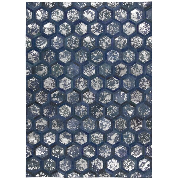 City Chic Handmade Cobalt Area Rug by Michael Amini