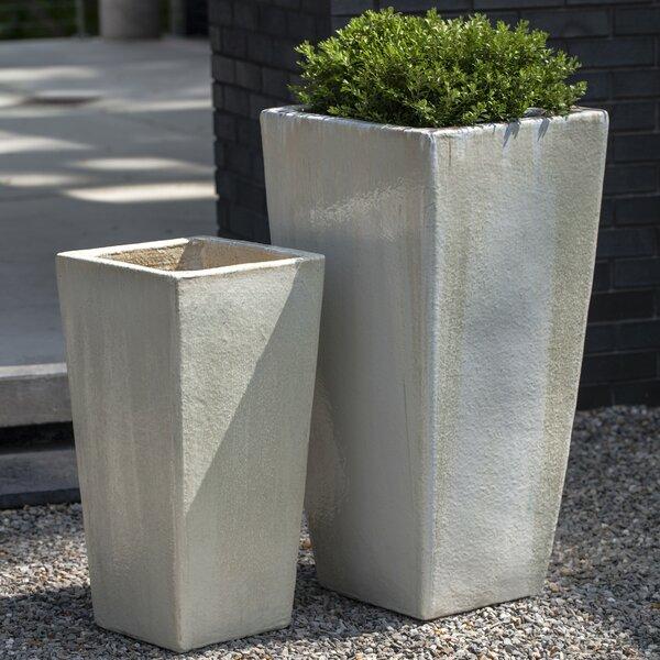 2-Piece Pot Planter Set by Campania International