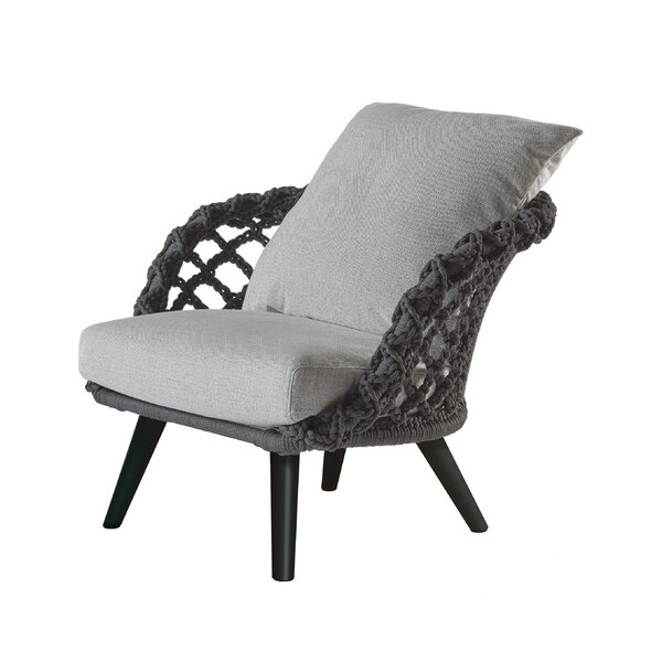 Thomson Braided Patio Chair with Sunbrella Cushions