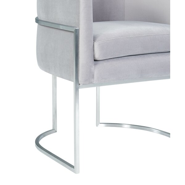 Giselle Grey Upholstered Dining Chair by Inspire Me! Home Décor