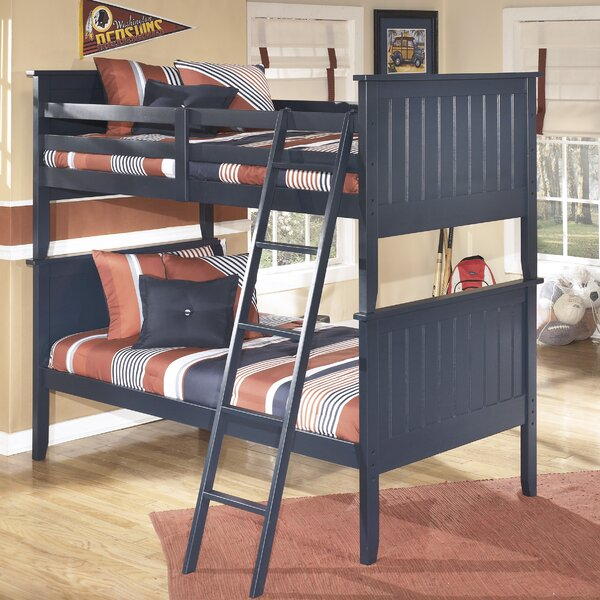 Rayleigh Twin Bunk Bed by Three Posts Baby & Kids