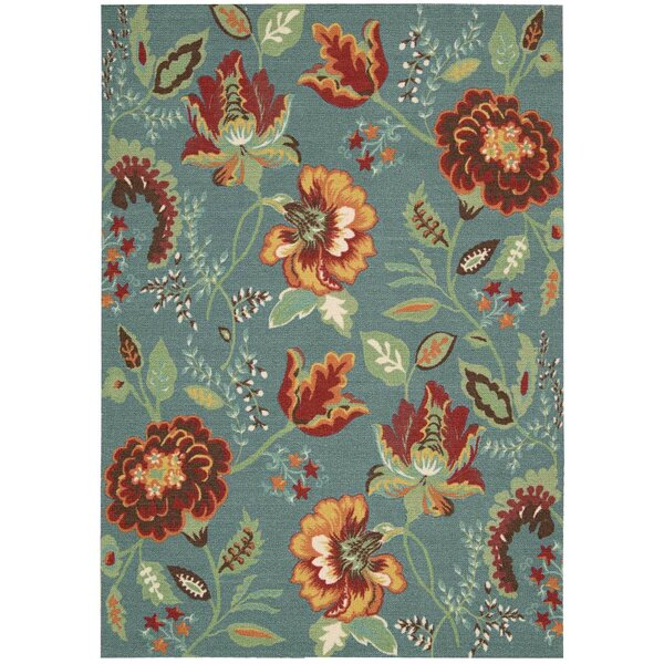 Burnside Blue Indoor Area Rug by Charlton Home
