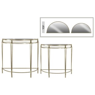 Places to find Eleanora Mesmerizing Half Moon 2 Piece Console Table ...