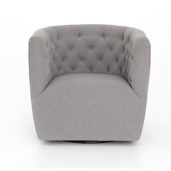 Doutzen Swivel Armchair by Brayden Studio