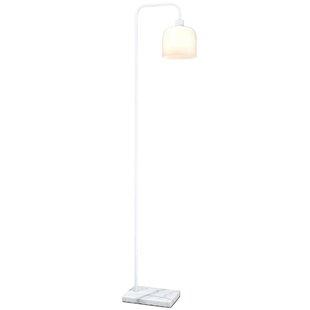 Modern task floor lamps allmodern chiara 63 task floor lamp aloadofball Images