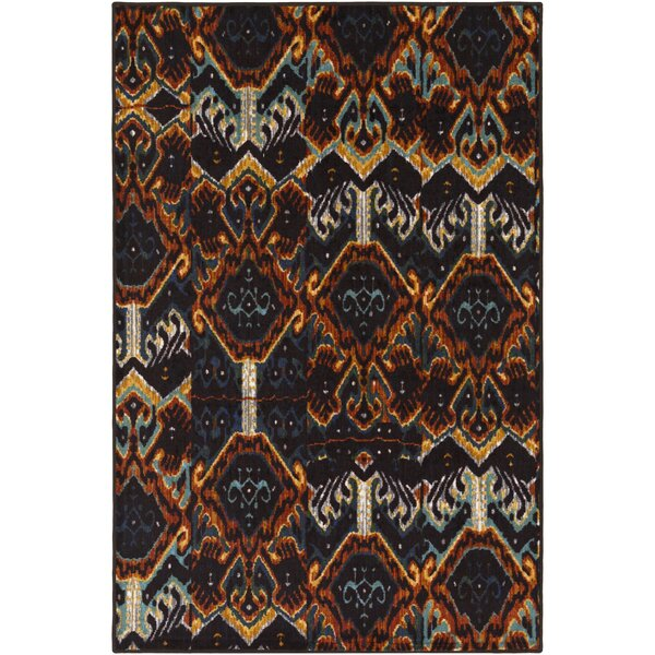Prasad Blue/Brown Area Rug by Bungalow Rose