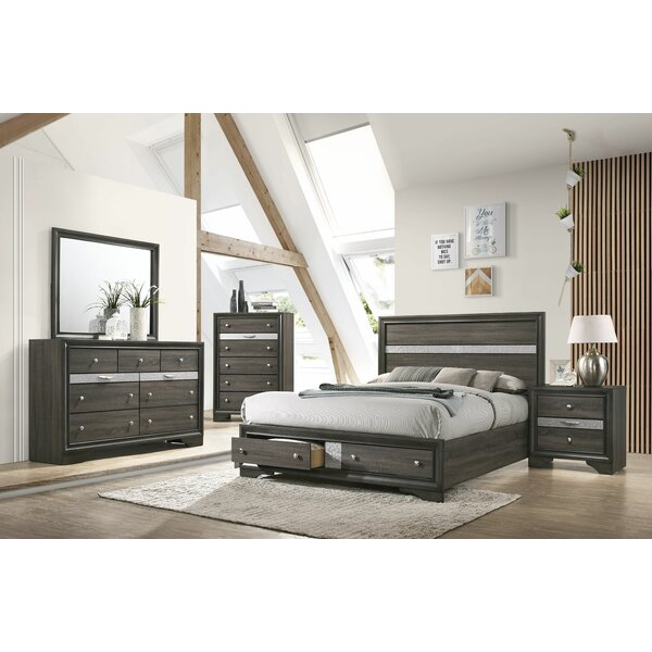Mooneyhan Platform Configurable Bedroom Set by Union Rustic