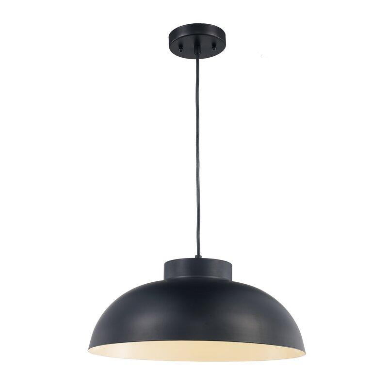 Lowes 1 Light Single Dome Pendant