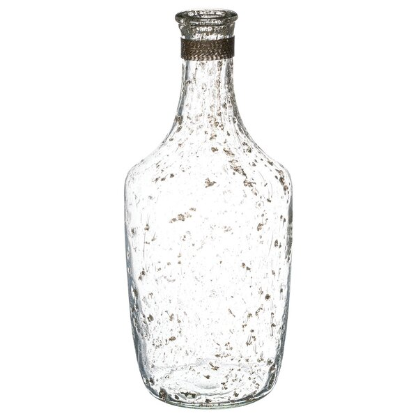 Cayman Ornamental Bottle Table Vase by Rosecliff Heights