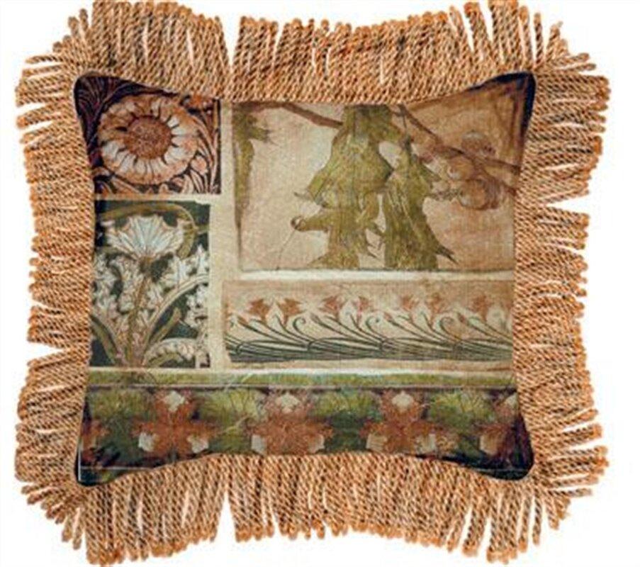 Arts & Crafts IV Cotton Throw Pillow
