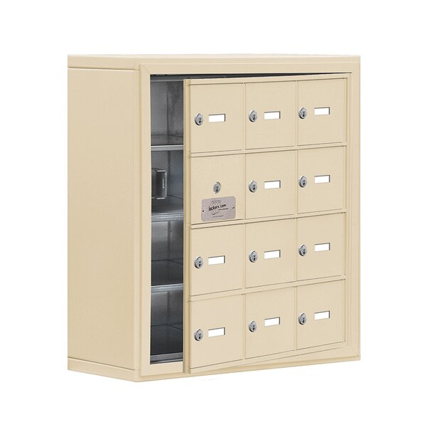 4 Tier 3 Wide EmpLoyee Locker by Salsbury Industries4 Tier 3 Wide EmpLoyee Locker by Salsbury Industries