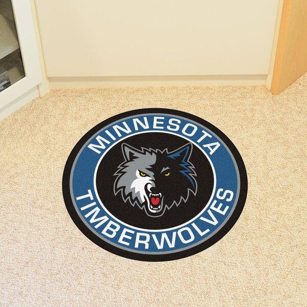 NBA Minnesota Timberwolves Roundel Mat by FANMATS