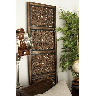 Large Carved Wood Panels | Wayfair