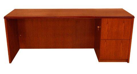 Waterfall Series Executive Desk by Carmel Furniture
