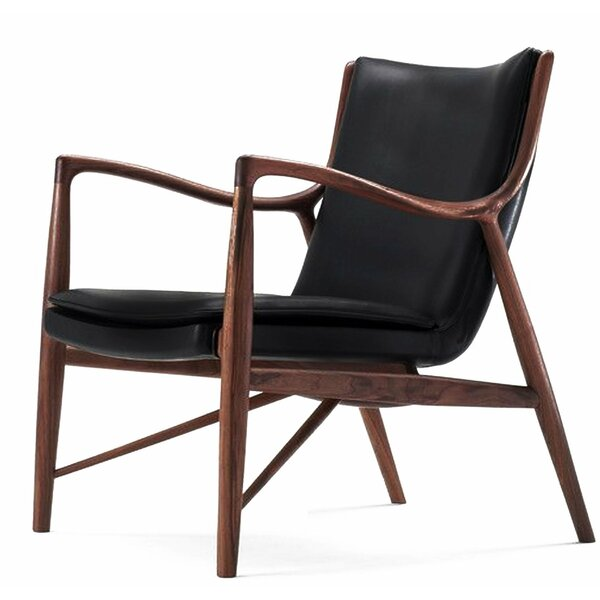 Treutlen Solid Wood Armchair by Foundry Select