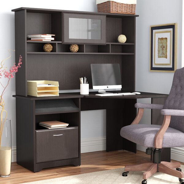 Hillsdale Corner Computer Desk with Hutch by Red Barrel Studio