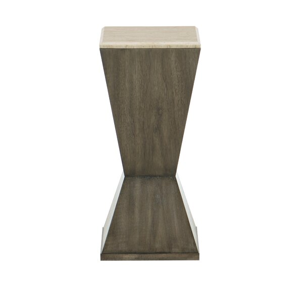 Profile Drink End Table by Bernhardt